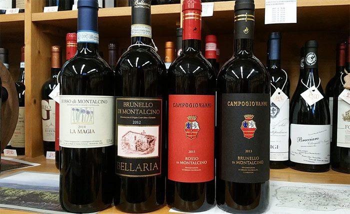 Brunello e Rosso di Montalcino
