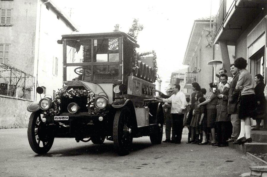Camion con spillatore birra Prinz Brau