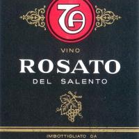 Etichetta Vino Rosato